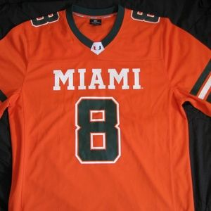 Colosseum Miami Hurricanes Football Jersey, L